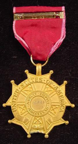US Legion of Merit medal - Authentic and WWII issue?