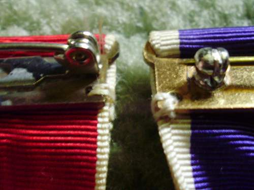 Question on medal brooches??