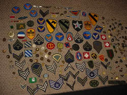 Some US patches and pins etc
