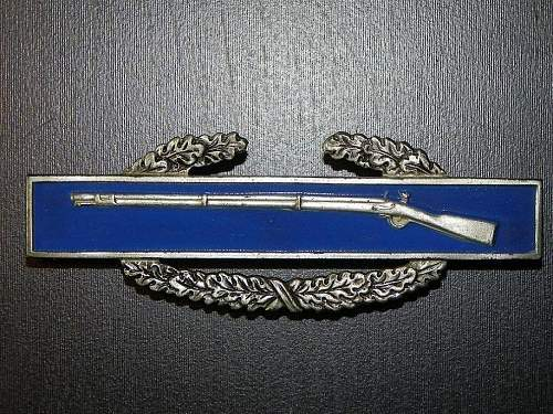 I would LOVE to see a thread on American Combat Infantry Badges and all the different varients