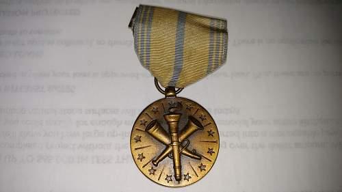 US Armed Forces Reserve Medal.