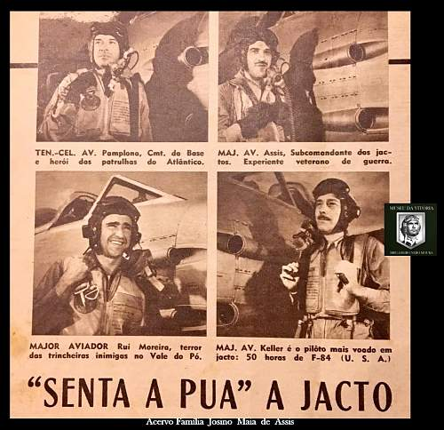 Capt Assis - 1st Brazilian Fighter Squadron - 350th Fighter Group USAAF - 12th AAF in Italian front (1944-45) - POW