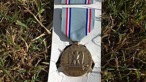 A couple of US medals