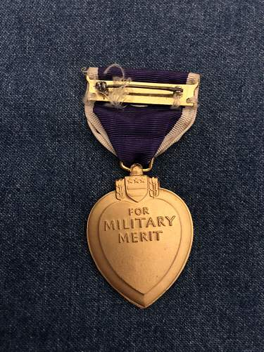 WW2 US Purple Heart
