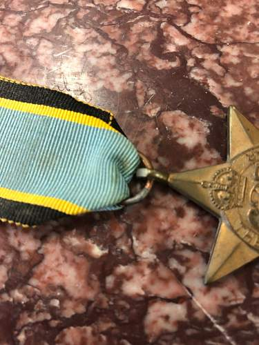 Air Crew Europe Star - I'm sure is fake?