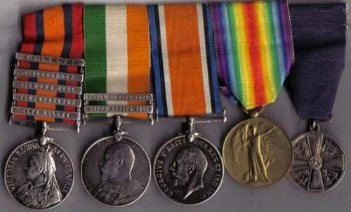 William Thomas Humm, 17th Lancers, ASC and Finnish Medal