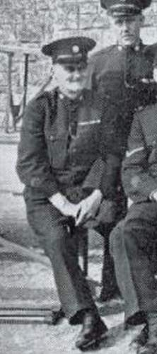 Early 1914 casualty, POW and one-legged policeman