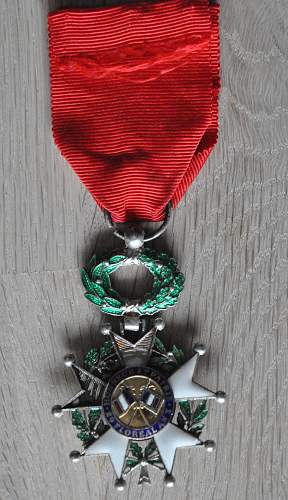 Orders and Medals repair