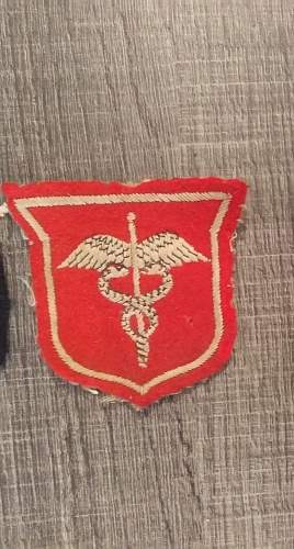 US medic patch or not ?