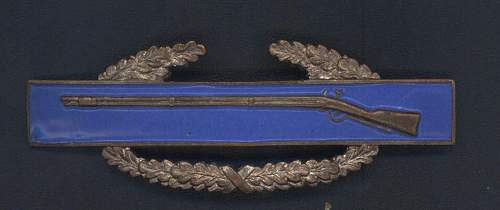 US Combat Infantry Badges
