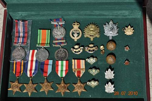 Canadian WW2 Medal Collection!