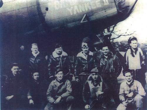 Grouping from B 17 tail gunner, 562nd bomb squadron