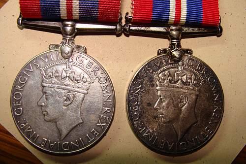 Canadian War medal