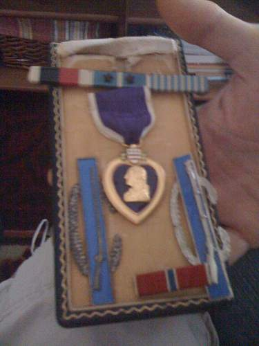 great uncles brothers purple heart and bronze star