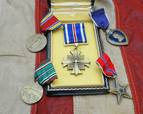 """Distinguished Flying Cross, the """"Trinity"""" and my US collection so far........"""