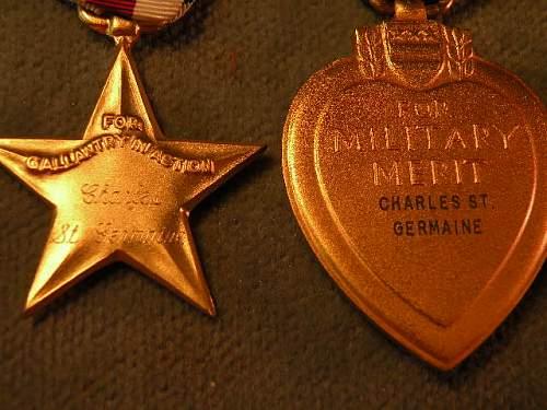 silver star purple heart bundle