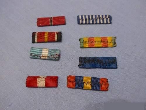 Need help. Unknown ribbon bars