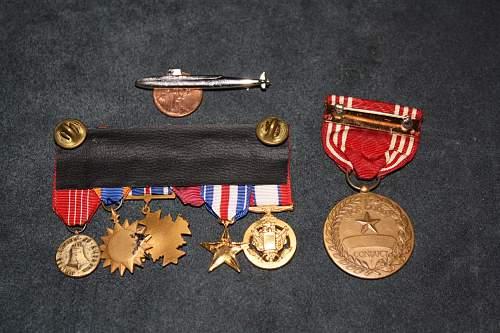 Medals needing names