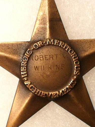 Bronze Star with Oak Leaf Cluster