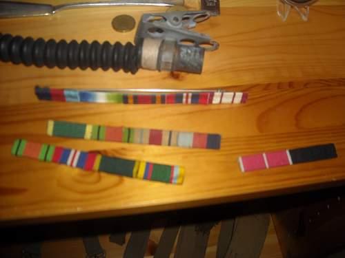 Need help on identifying British ribbons.