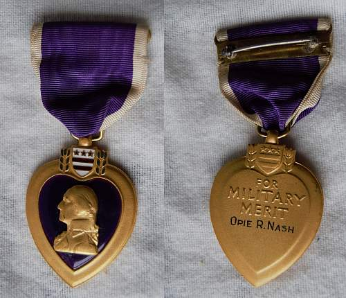 purple heart family group
