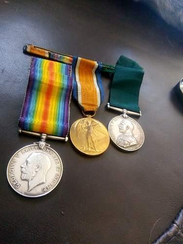 British medal group RYS