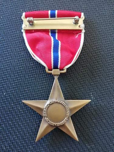 US Bronze Star Medal - Original or Fake