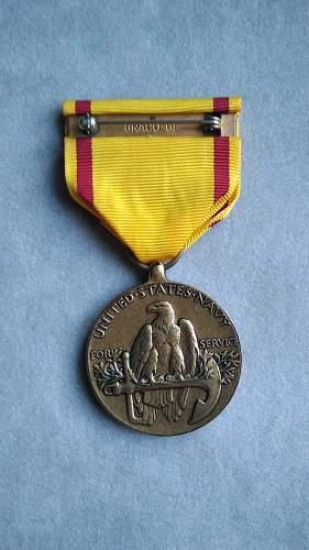 China Service Award USMC