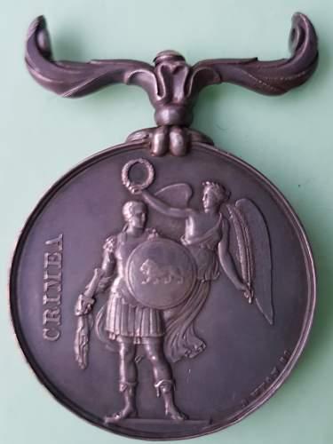 Famous Crimean War Medal