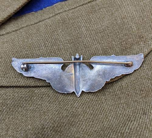 Some USAAF Flight wings