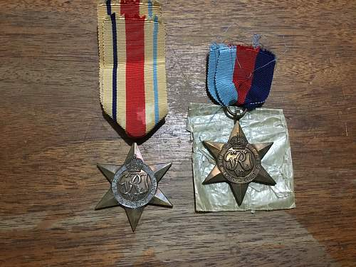 UK Medal Collection For Reveiw