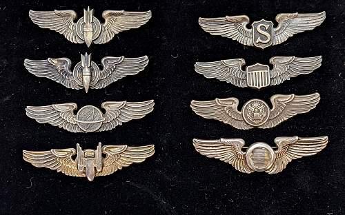 Air Gunner & Observer Wings