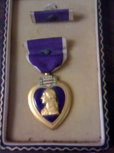 1st Sgt. David Mcnerney's medals
