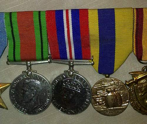 Please help me identify these British & French medals