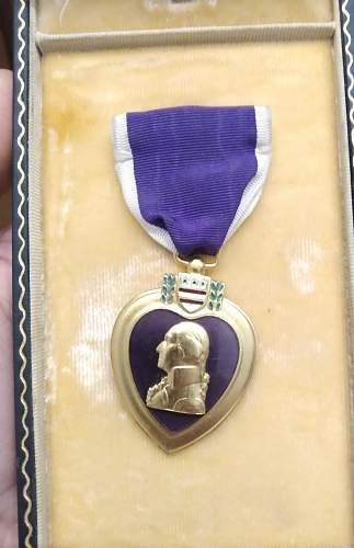 What do you think about this purple heart?
