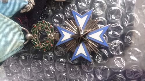 French Black Star medal