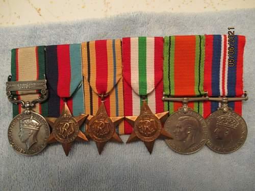 Long Service Group to 9th Gurkha Rifles