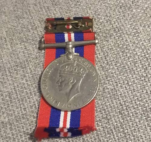 How much is my medal with its original box worth?