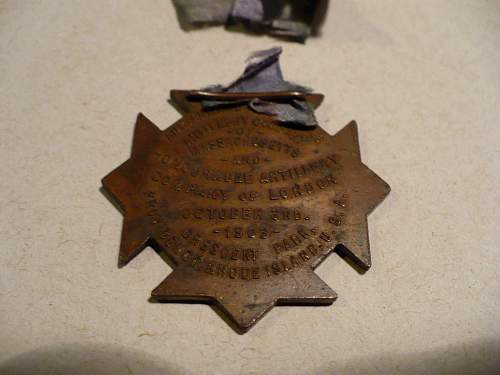 Can anyone help with this medal/medallion