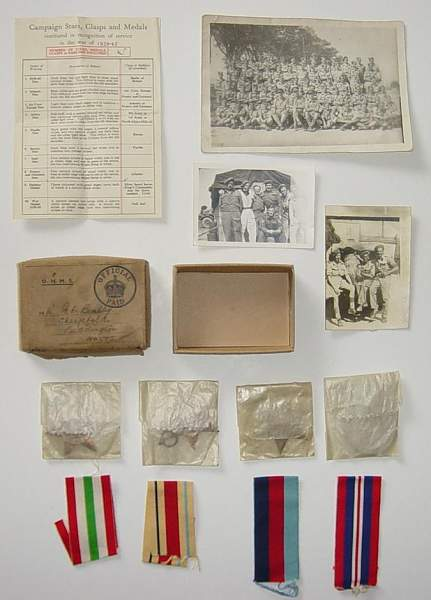 Click image for larger version.  Name:British Medals of Fred B..JPG Views:153 Size:72.1 KB ID:18517