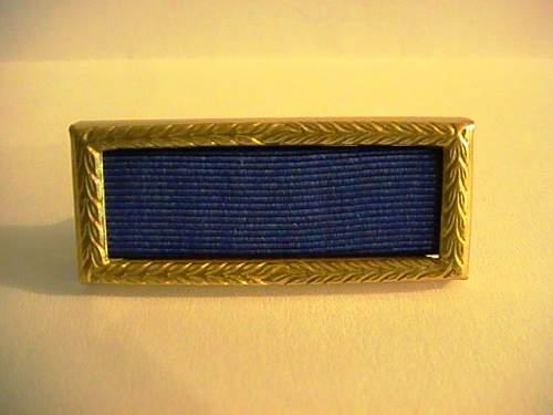 WW2 Presidential Unit Citation: original or not ???