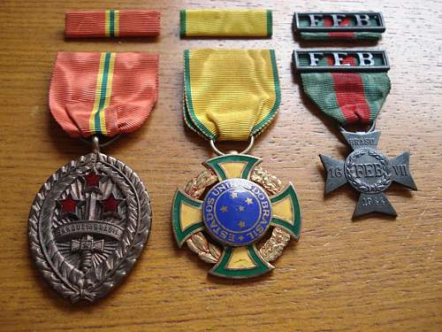 "My Brazilian Expeditionary Force Medals (""In Progress"")"