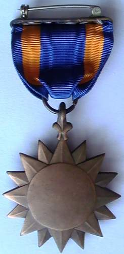 Early US Air Medal