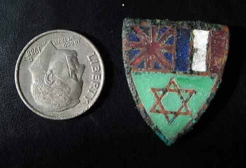 I think this is a Pin/Badge for the Suez Campaign but I'm not sure