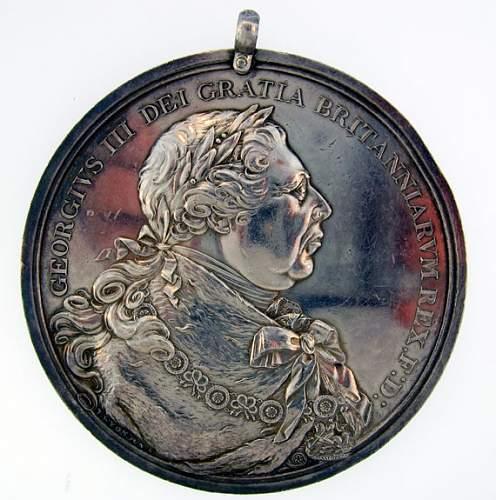 Medal found!