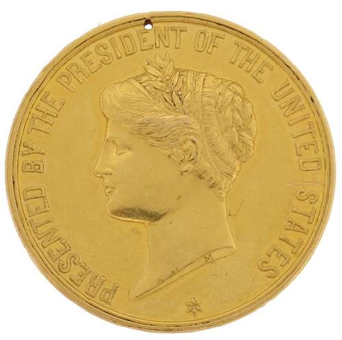 GOLD Presidential Life Saving Medal