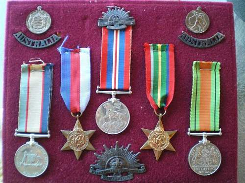 My Grandads Medals