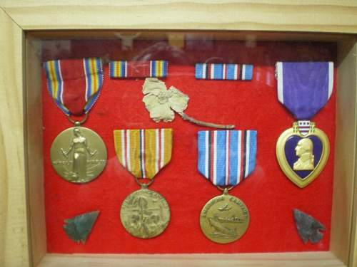 My Other Grandads Medals