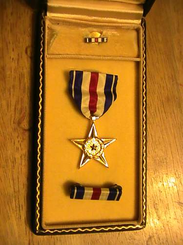 US medal the silver star
