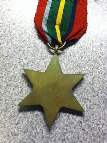 British Pacific Campaign Star